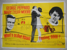 What's So Bad About Feeling Good, UK Quad, George Peppard, Mary Tyler Moore '68